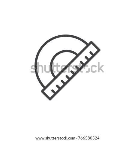 Protractor Stock Images, Royalty-Free Images & Vectors