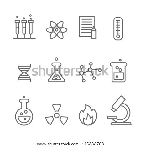 Bacteria Virus On Circular Background Biology Stock Vector