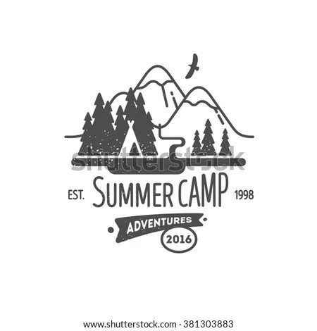 Camp Poster Stock Images, Royalty-Free Images & Vectors