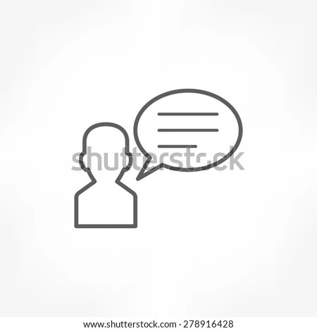 Speak Icon Stock Images, Royalty-Free Images & Vectors