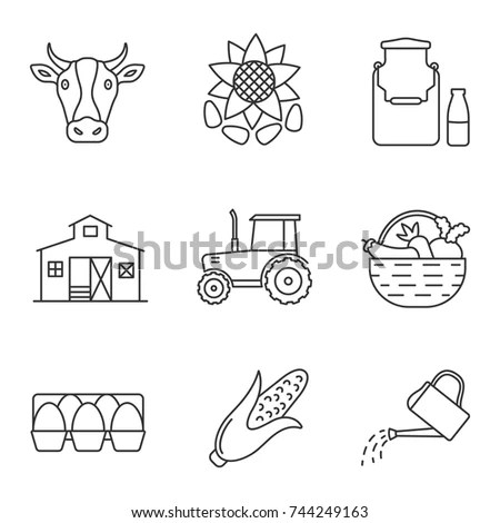 Contour Farming Stock Images, Royalty-Free Images