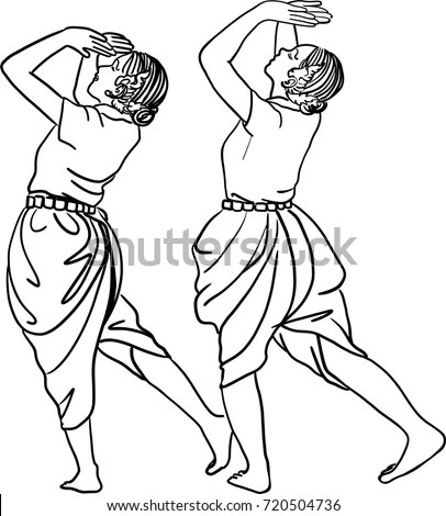 Sketch Forms For Dance Coloring Pages