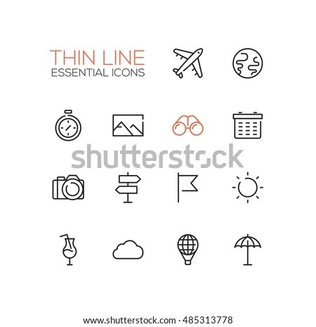 Travel Symbol Stock Images, Royalty-Free Images & Vectors