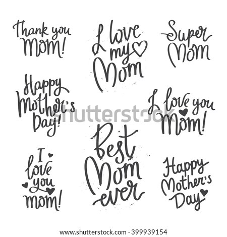 I Love You Mom Stock Images Royalty Free Images Amp Vectors