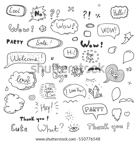 Words Drawing Stock Images, Royalty-Free Images & Vectors