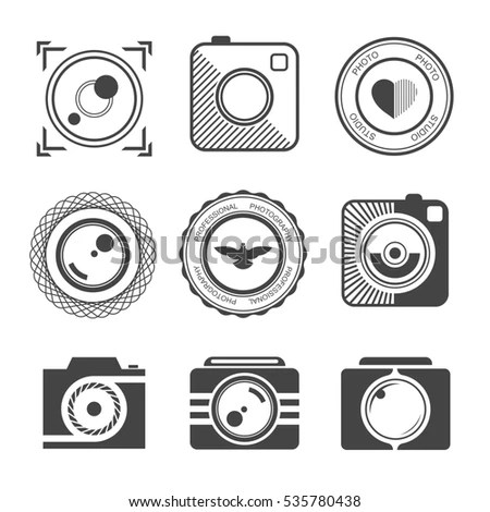 Set Vector Line Icons Flat Design Stockvektor 444499318