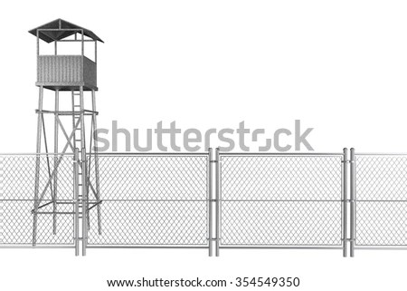 Security Fence Stock Images, Royalty-Free Images & Vectors