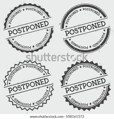Postponed Stock Images, Royalty-Free Images & Vectors