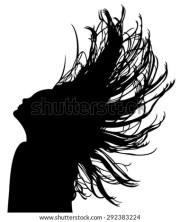hair weave stock vectors & vector