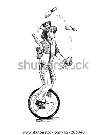 Jongleur Stock Images, Royalty-Free Images & Vectors