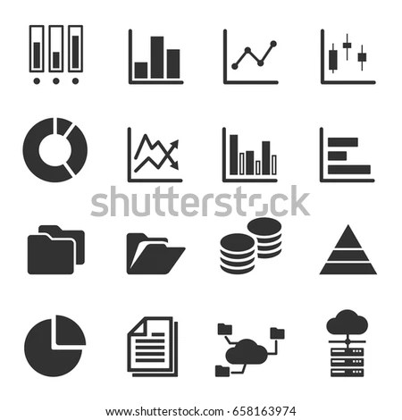 Data Icon Stock Images, Royalty-Free Images & Vectors