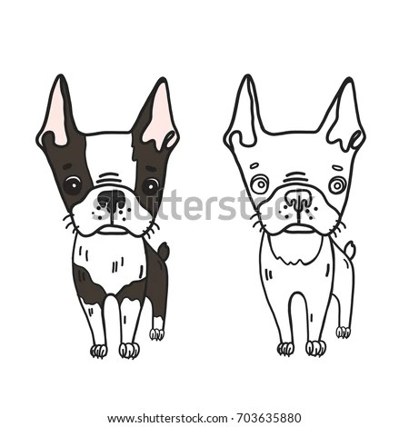 Vector Illustration Draw Character Design Sweet Stock