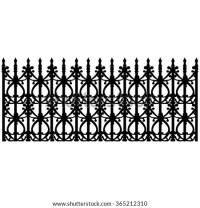 Wrought Iron Balcony Vector