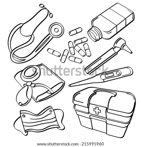 Vector Drawing Electric Motor Orthographic Isometric Stock