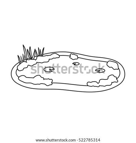Doodle Style Soap Bubbles Bathroom Vector Stock Vector