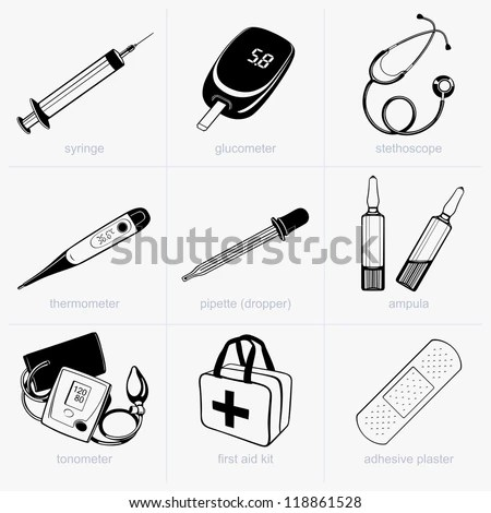 Doctor equipment Stock Photos, Images, & Pictures