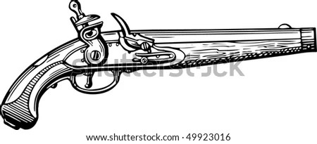 Old Pistol Stock Images, Royalty-Free Images & Vectors
