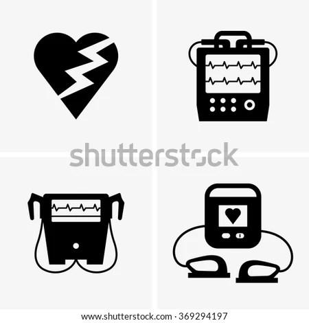 Defibrillator Paddles Clip Art
