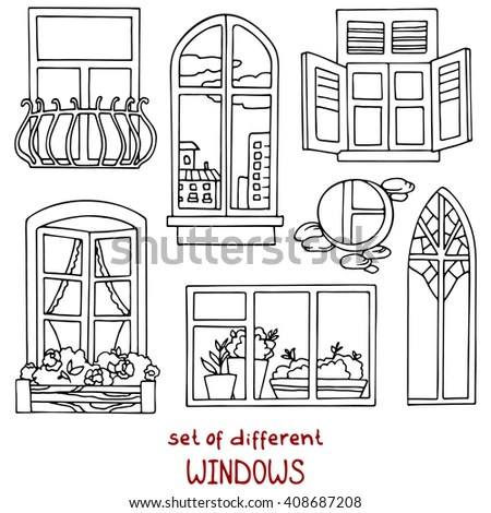 Vintage Window Stock Images, Royalty-Free Images & Vectors