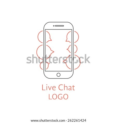 Outline Smartphone Stock Photos, Royalty-Free Images