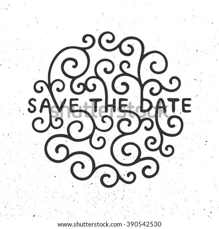 Typography Romantic Poster Lettering Poster Vector Stock