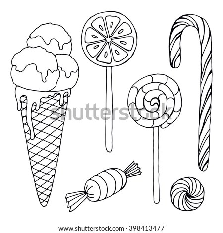 Coloring Sweater Flat Coloring Pages