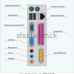 Computer Ports Diagram Plot Answers Wiring Diagrams Connection Port Worksheet And