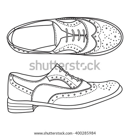 Drawing Shoes Stock Images, Royalty-Free Images & Vectors