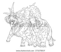 Pachyrhinosaurus Coloring Pages Dinosaur Coloring Pages