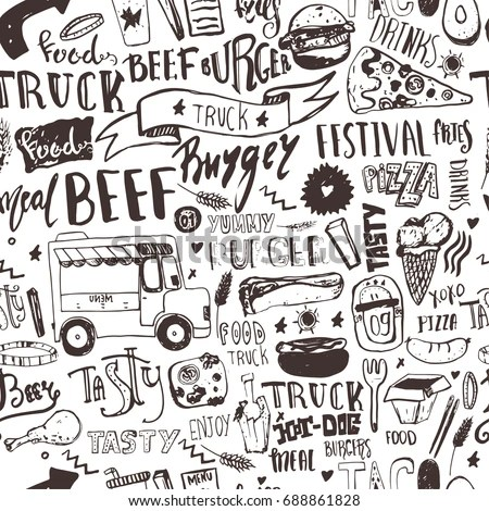 Food Truck Stock Images, Royalty-Free Images & Vectors