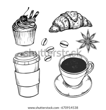 Cake Menu Coffee Stock Images, Royalty-Free Images