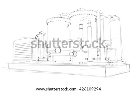 Gas Compressor Stock Images, Royalty-Free Images & Vectors
