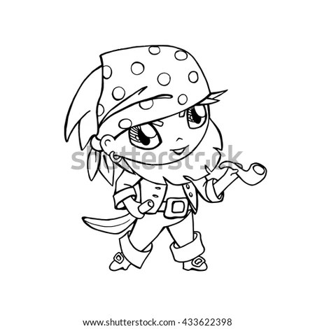 Page Exercises Kids Coloring Book Make Stock Illustration