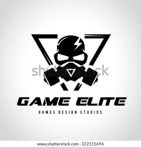 Games Logo Vector Logo Template Stock Vector Royalty Free