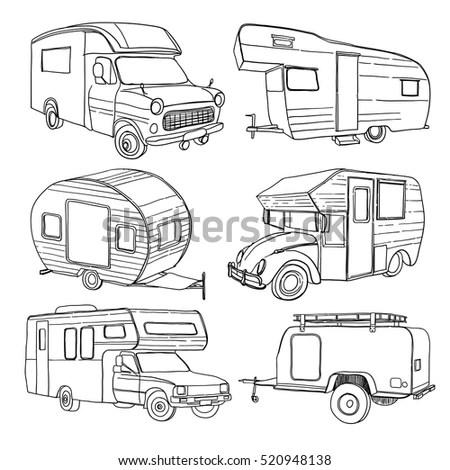 Vintage Motorhome Clip Vintage Pickups Wiring Diagram ~ Odicis