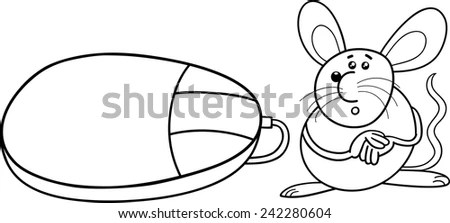 Cartoon Computer Mouse Stock Images, Royalty-Free Images