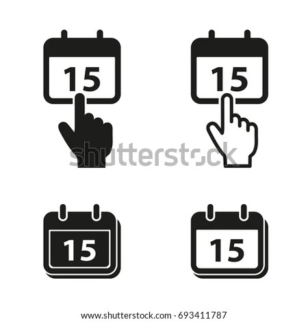 Schedule Icon Stock Images, Royalty-Free Images & Vectors