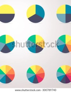 Simple business flat pie chart graph diagram with also stock vector royalty free rh shutterstock