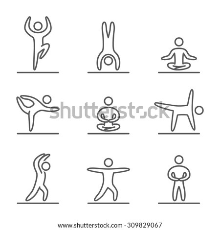 Yoga Icon Stock Images, Royalty-Free Images & Vectors