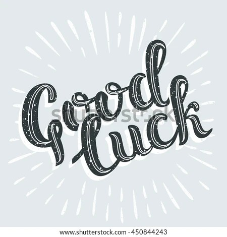 Good Luck Stock Images, Royalty-Free Images & Vectors