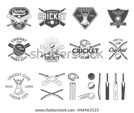 Cricket Symbols Stock Photos, Royalty-Free Images