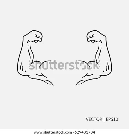 Bodybuilding Drawing Stock Images, Royalty-Free Images
