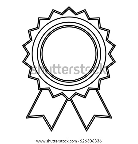 Award Badge Coloring Coloring Pages