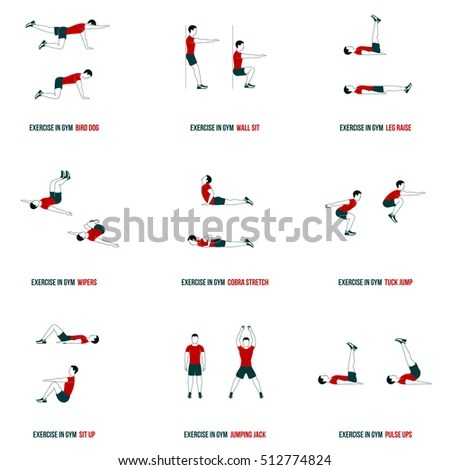 Aerobics Vector Stock Images, Royalty-Free Images