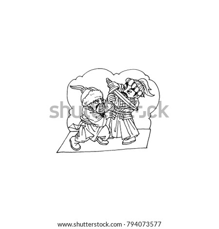 Romance Of The Three Kingdoms Stock Images, Royalty-Free