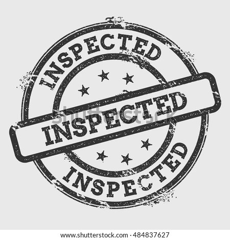 Inspection Stamp Stock Photos, Royalty-Free Images