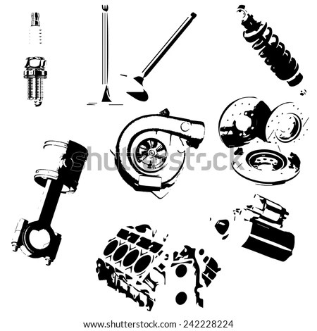 Truck Spare Parts Stock Images, Royalty-Free Images