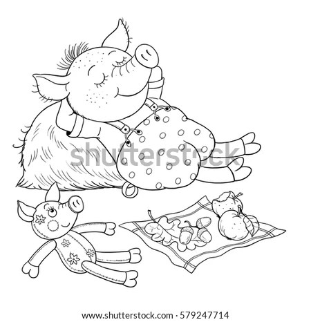 Straw Hut Coloring Pages