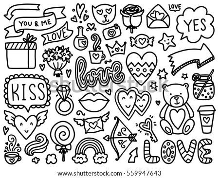 Doodle Lucu Monster Simple