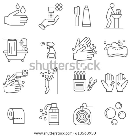 Blue Human Anatomical Man Silhouette View Stock Vector